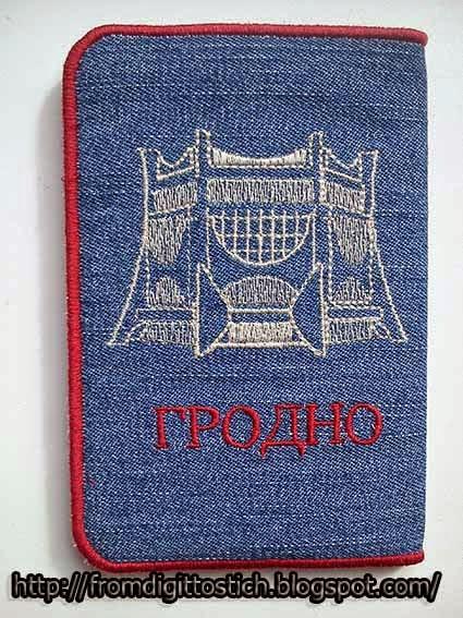 обложка с вышивкой