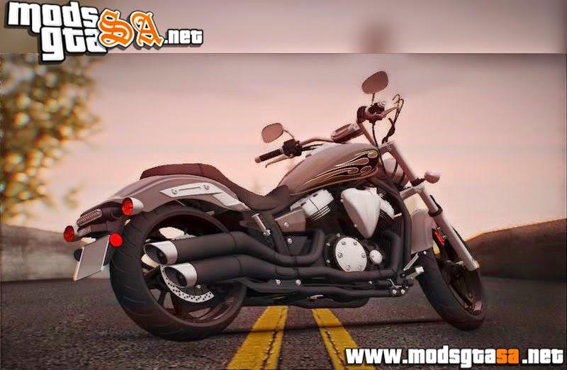 SA - Yamaha Star Stryker 2012