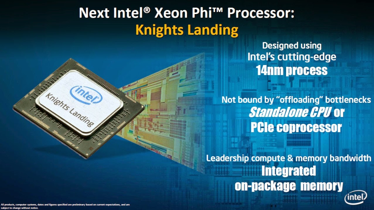 Processor Intel Xeon Phi Knights Landing