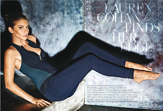 Lauren Cohan – Shape magazine January/February 2016 issue