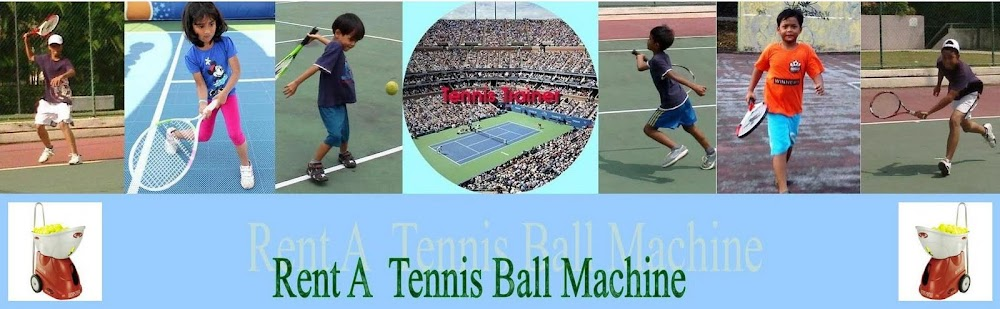 RENT A TENNIS BALL MACHINE