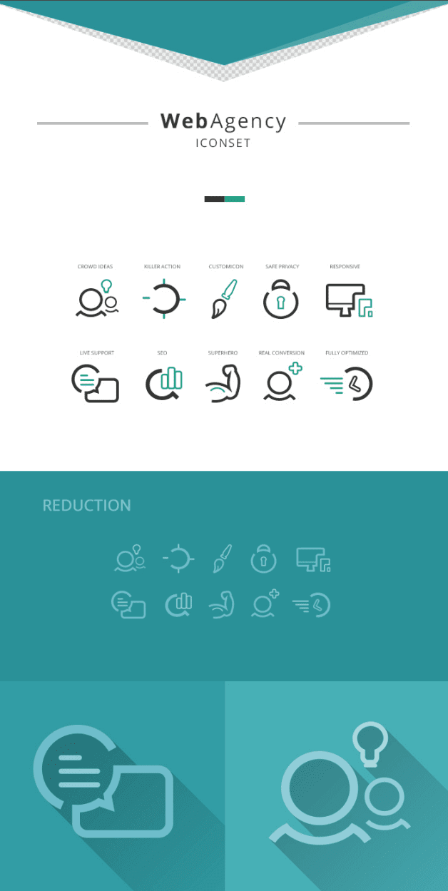 WebAgency Free Icon Set