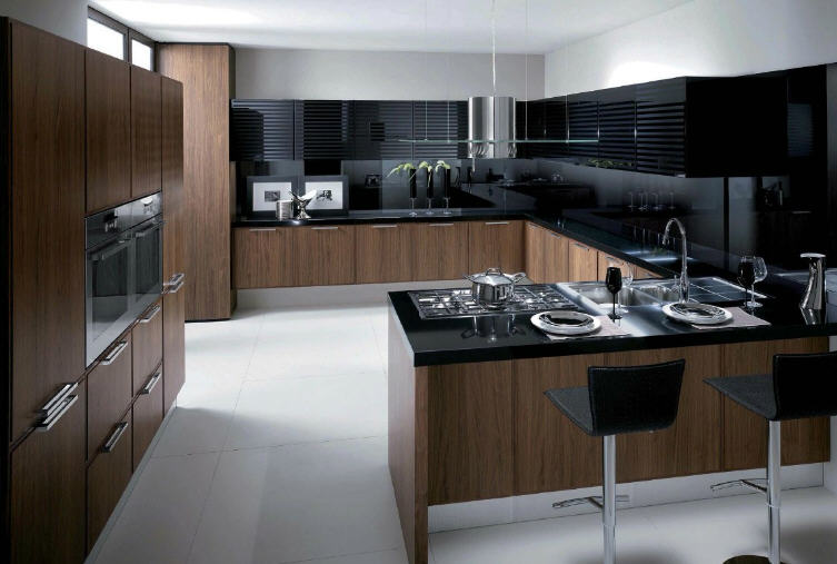 Simply beautiful kitchens the blog walnut modular kitchens by scavolini - Kitchens scavolini ...
