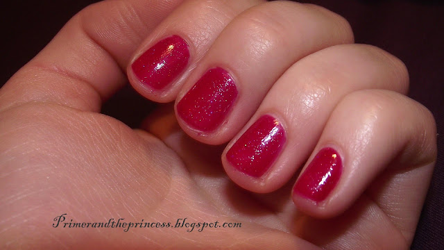 Maybelline Color Show Nail Polish Review - 265 Wine Shimmer Swatch