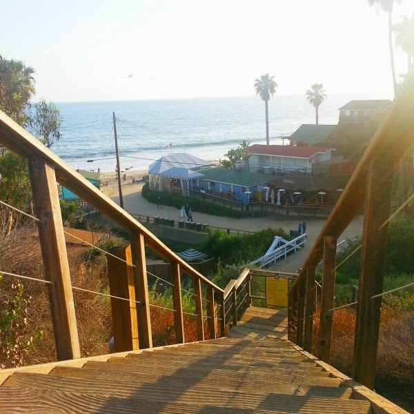 Ruby's Shake Shack // Stairs to Crystal Cove
