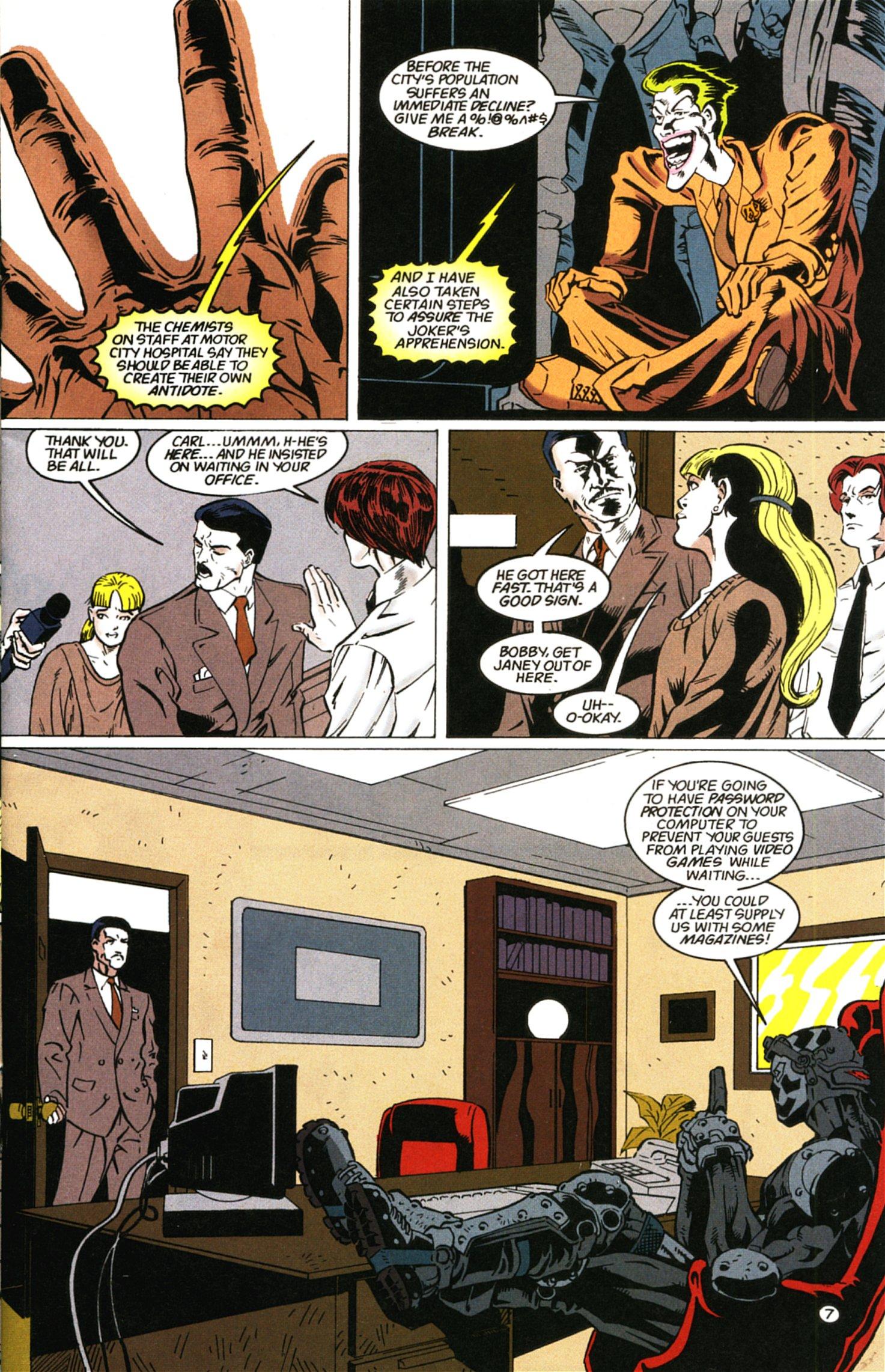 Deathstroke (1991) Issue #58 #63 - English 8