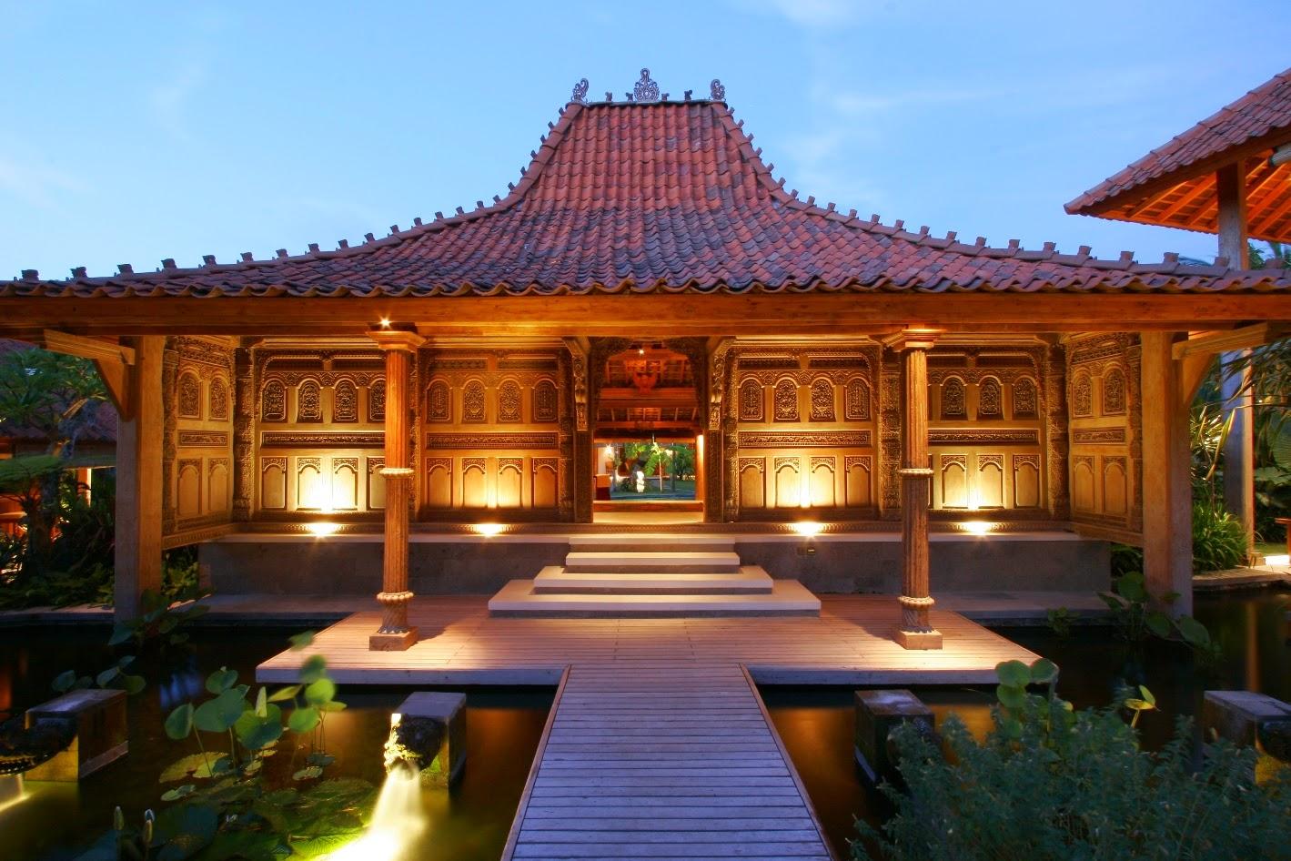 Desain Rumah Adat Jawa atau Rumah Joglo