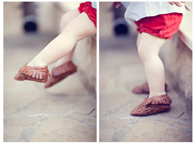 Cute Moccasin soft leather free pattern