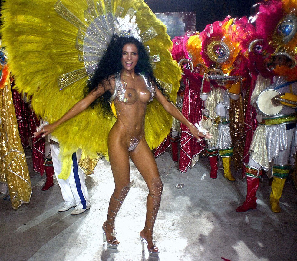 young brazil carnival women hot