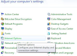 How to move location of temporary internet files folder