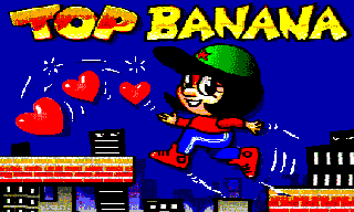 Top Banana Amiga title screen
