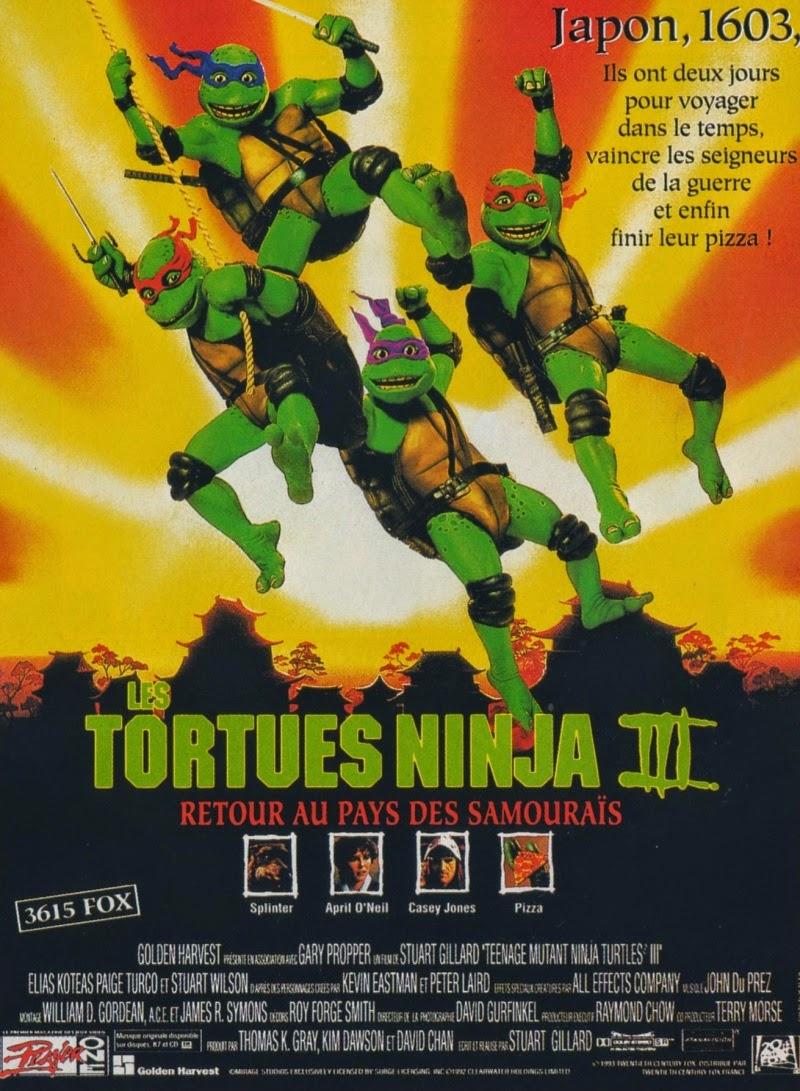 1993 *** film III 3 Seigneur de Guerre *** Teenage Mutant Ninja Turtles TMNT
