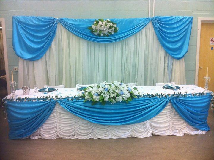 Turquoise Wedding Decoration