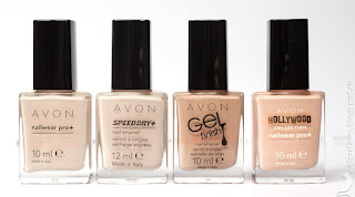 Avon Tender Avon Street Beige Avon Gel Finish Barely There Avon Hollywood Drive In