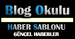 Blogger Haber Blogu Teması