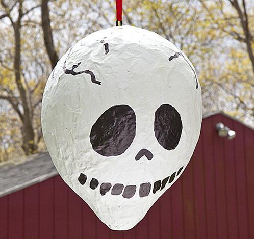 Piñata calavera o esqueleto (decoracion Halloween)
