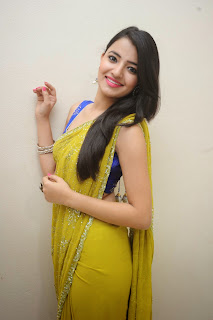 Ruksha Meer sizzling in saree 016.JPG