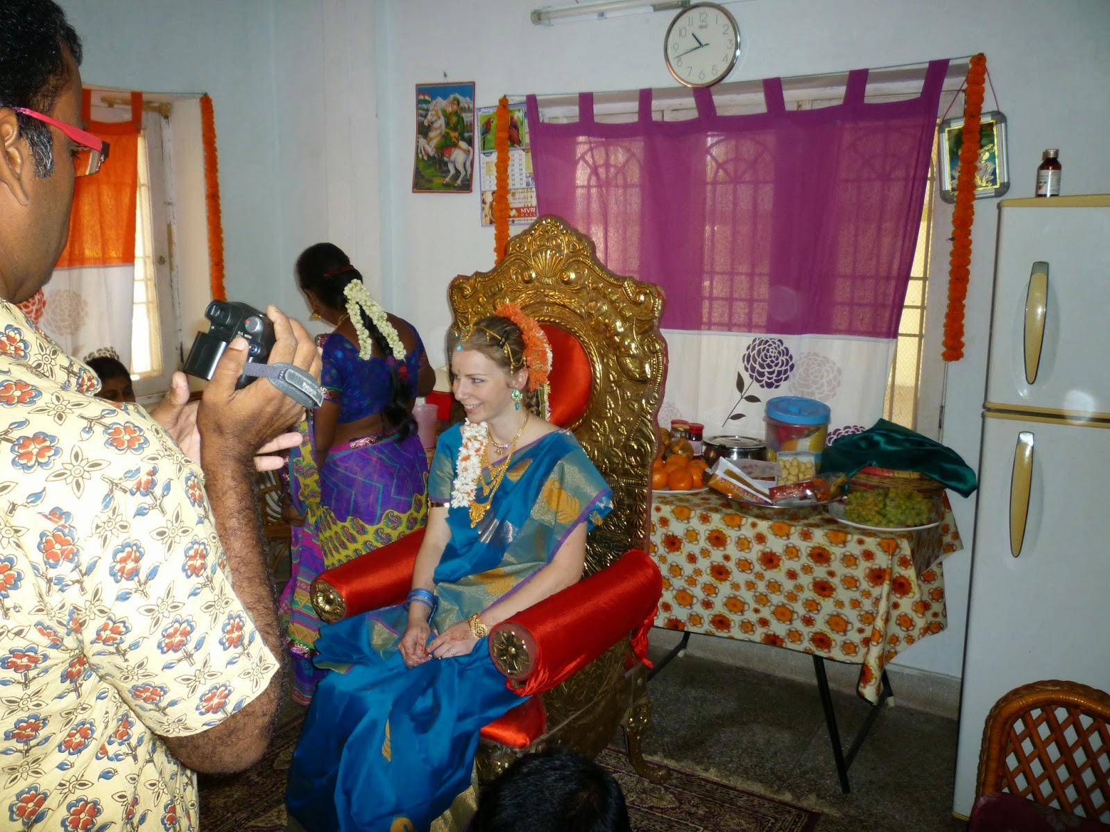India Adventure Seemantham A Baby Shower South Indian Style