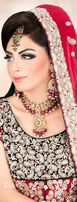bridal makeup look 2015