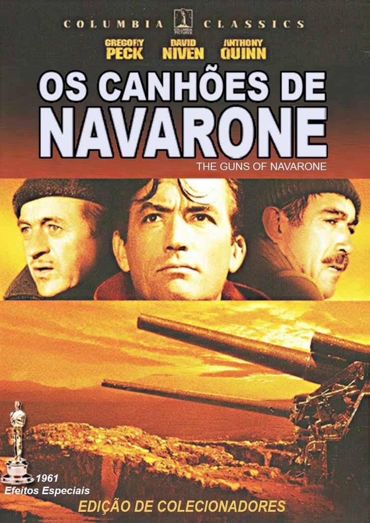 Os Canhões de Navarone Torrent - Blu-ray Rip 720p e 1080p Dual Áudio (1961)