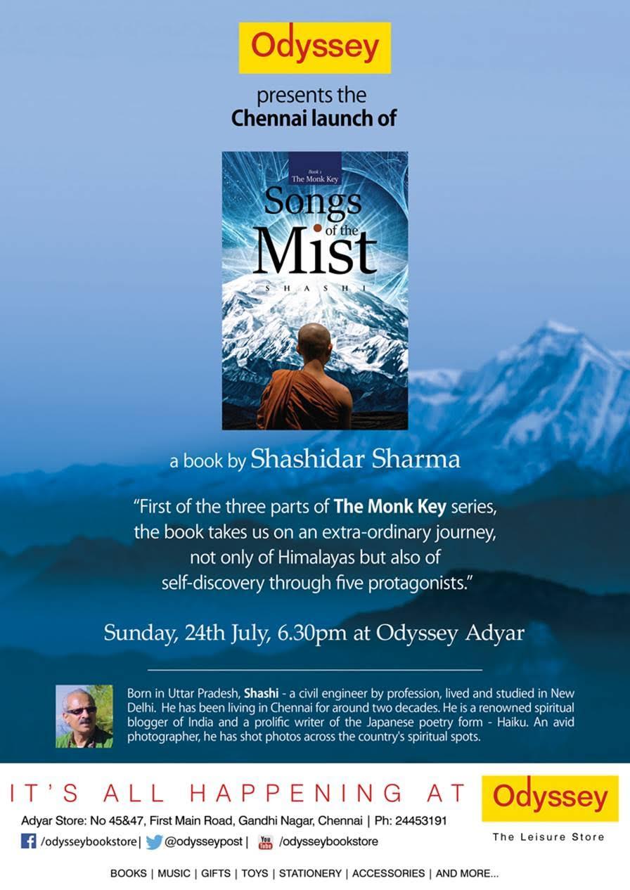 Odyssey Chennai Book Launch