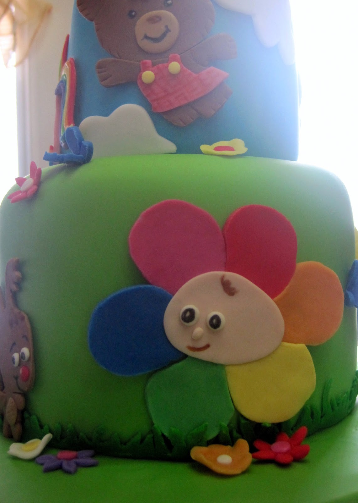 Custom Cakes By Stef Baby First Tv Cake