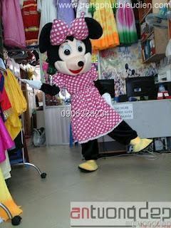 cho thuê mascot mickey nữ