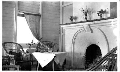 East-side bungalow fireplace