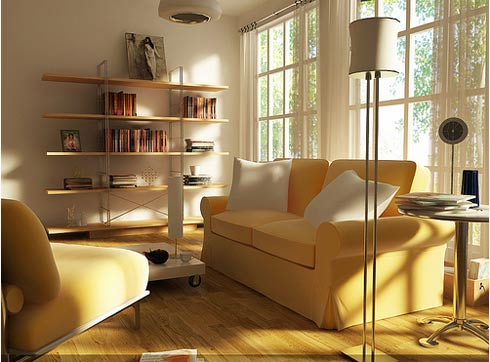 Living Room on Architecture Design Interior  Modern Living Room Decorating Ideas 2012