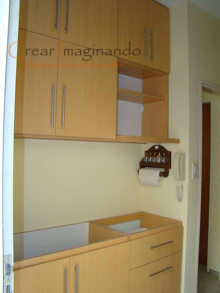Crear imaginando muebles para cocina for Medidas para hacer un mueble de cocina