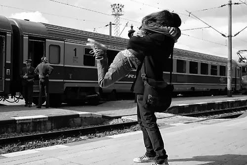No hay distancia que separe al amor