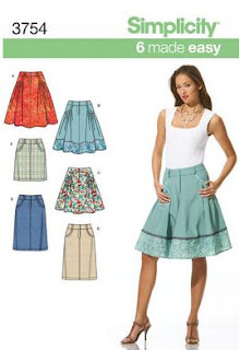Simplicity 3754 pattern cover