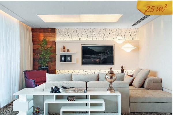 Painel De Sala De Tv Decorado ~  , é possível fazer decorações lindas com uso de sua criatividade