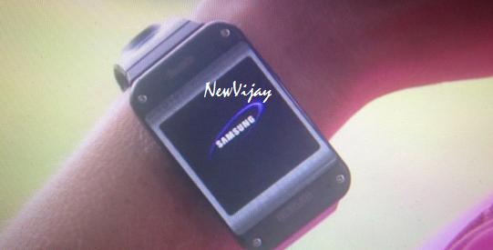 Samsung's fist Smartwatch Galaxy Gear leaked