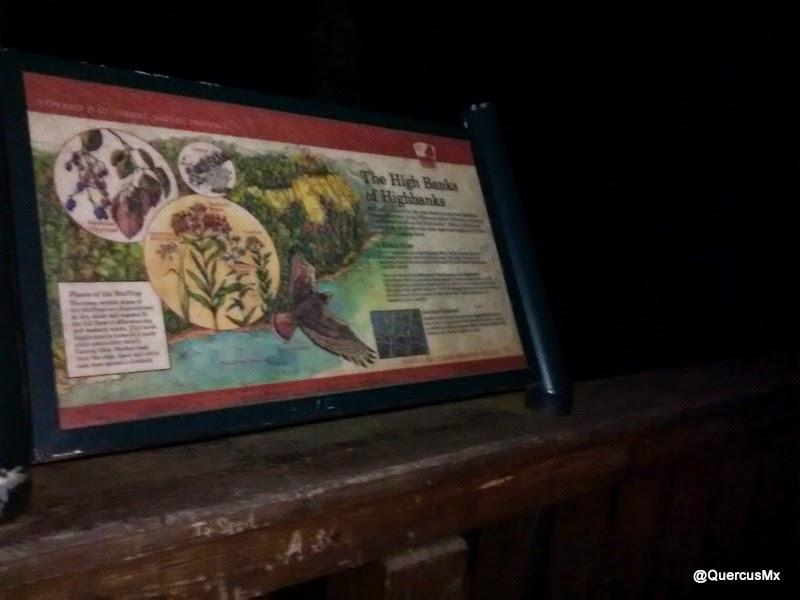 Información en el Parque Highbanks de Columbus, OH