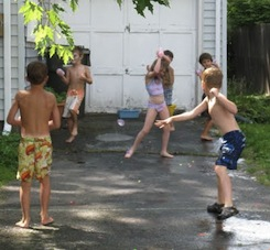 kids water summer games