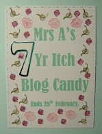 Mrs. A's Blog Candy