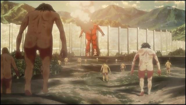 [ANÁLISE] O Titã Colossal! Shingeki-no-Kyojin-titans-and-giants
