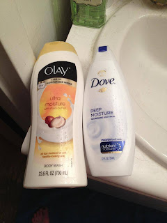 Olay, Olay body wash, Olay shower gel, Olay Ultra Moisture Body Wash with Shea Butter, Dove, Dove body wash, Dove shower gel, Dove Deep Moisture Nourishing Body Wash, body wash, shower gel