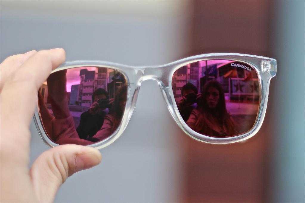 Gafas de sol carrera ap ntate a la moda del espejo las for Espejo transparente