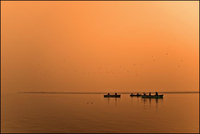 Varanasi amanecer