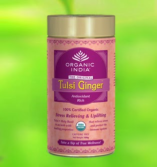 organic india tulsi tea ginger online - dietkart.com