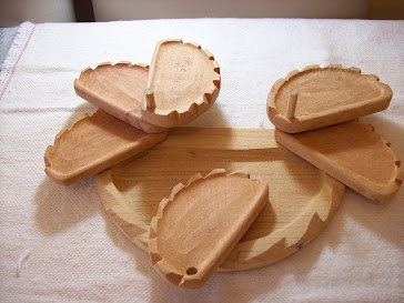Porta empanada con base x 6 unidades.