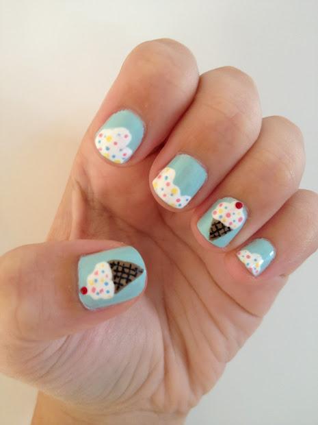 nailed . ice cream nails