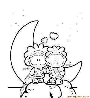 Dibujos Tiernos de Amor