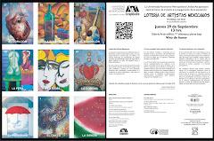 """EXPOSICON """"LOTERIA DE ARTISTAS MEXICANOS"""""""