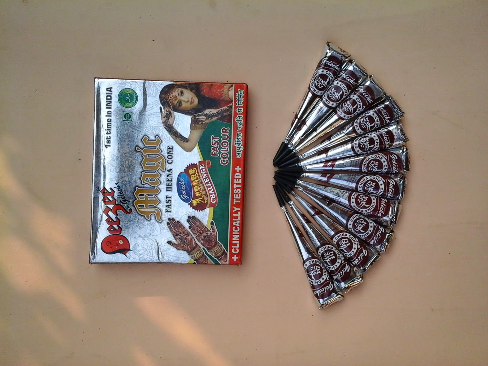 HENNA GOLECHA INDONESIA Oktober 2014