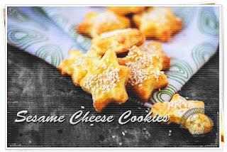 Cara Membuat Sesame Cheese Cookies Renyah dan Gurih