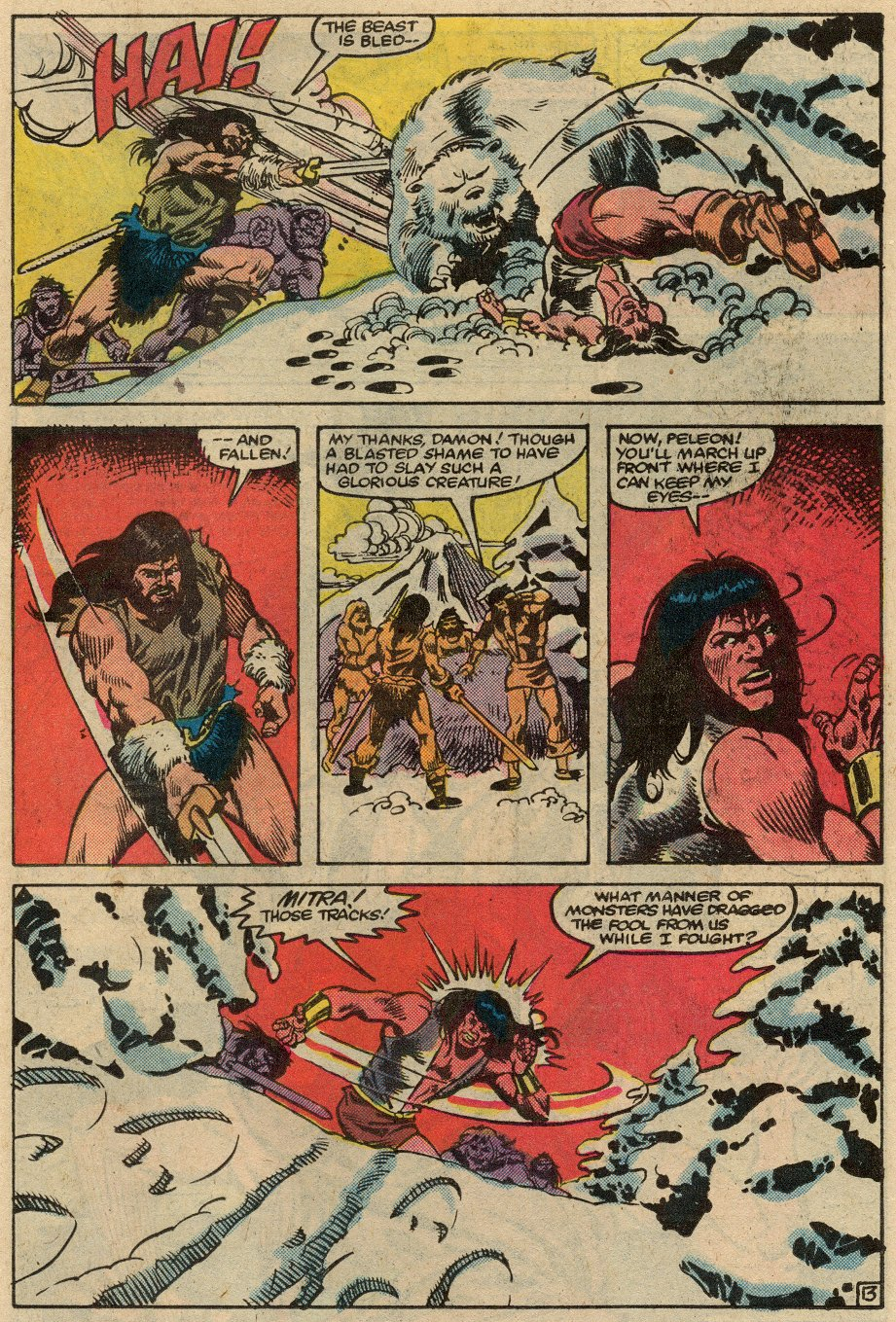 Conan the Barbarian (1970) Issue #145 #157 - English 14