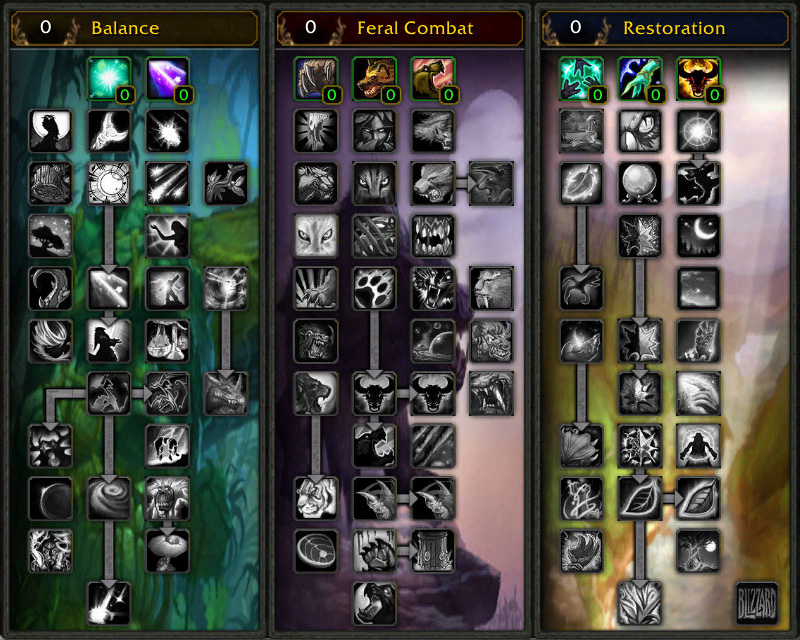 Druid Build For Leveling
